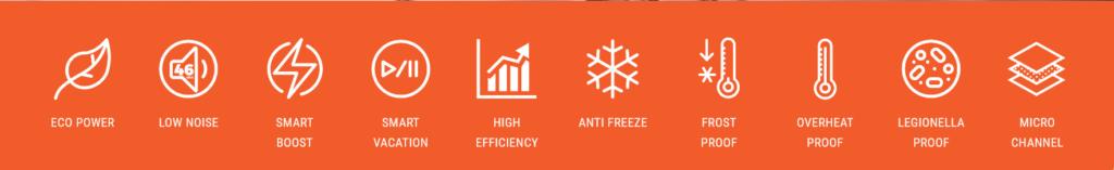 Enviroheat heat pump hot water systems Queensland, NSW, VIC, smart hot water heaters