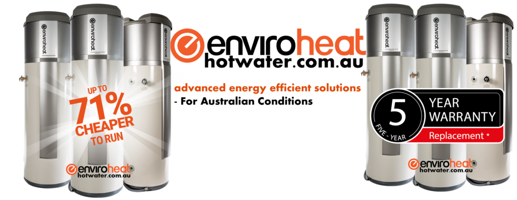 Enviroheat heat pump hot water systems