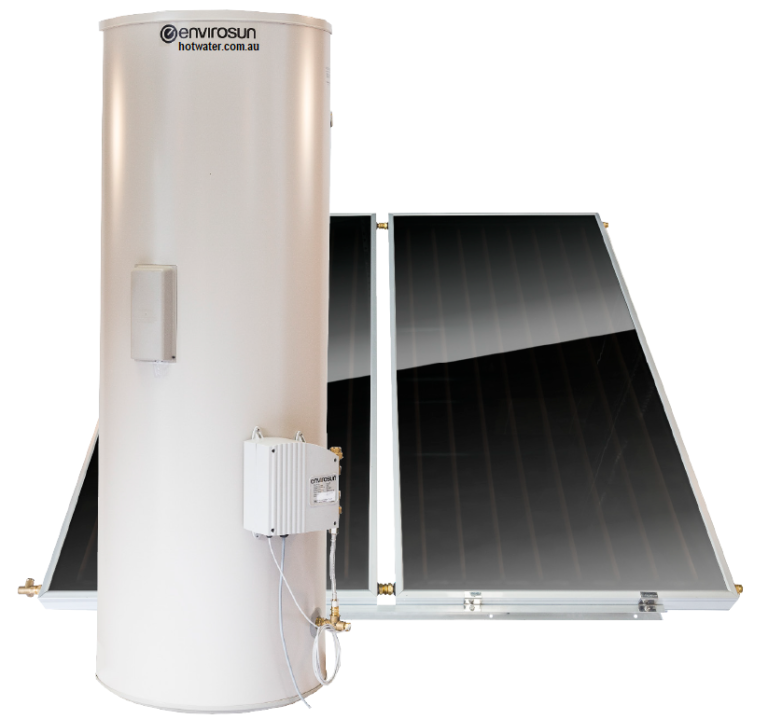 Envirosun solar hot water systems Brisbane